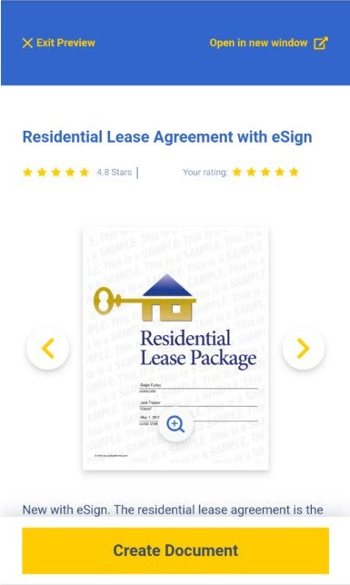 Residential Lease Agreement Builder Wizard