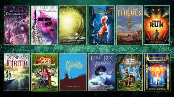 12 Adventure-Filled Middle Grade Fantasy Books