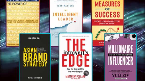 6 Books For Entrepreneurs And Aspiring Business Leaders