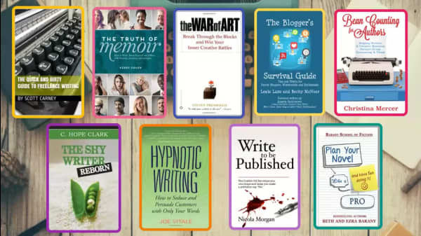 9 Essential Books On Writing And Publishing For Aspiring Wordsmiths