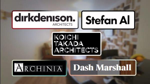 5 Architects Creating Original Designs