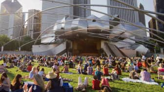 Aside from its permanent features, people also visit the place to watch notable events, including the annual Grant Park Music Festival.