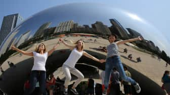 "According to Financial Times, Millennium Park is ""an extraordinary public space that is set to create new iconic images of the city."""