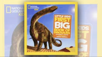 "Last is #10, ""National Geographic Little Kids First Big Book of Dinosaurs."""