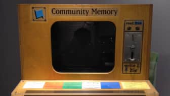 It was a computer-based bulletin board system that could be accessed using coin-operated terminals found throughout California.