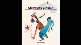 "Following at #2 is ""Separate Cinema: The First 100 Years of Black Poster Art."""