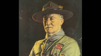 At a party in May 1911, she met Sir Robert Baden-Powell, the founder of Scouting.