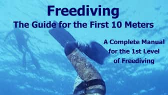"Next up, at #7, is ""Freediving - The Guide for the First 10 Meters."""