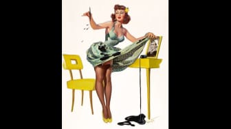 An extra-large and lavish compilation of pin-ups, it features nearly 100 artists.