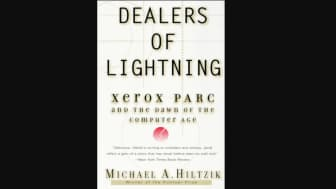 "Coming in at #9 is ""Dealers of Lightning: Xerox PARC and the Dawn of the Computer Age."""