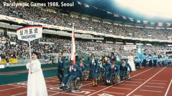 "In 1988, the title of the ""Paralympic Games"" was officially adopted for the games in South Korea, and the official governing body was established."