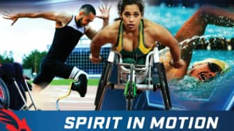 "The symbol also reflects their motto, ""Spirit in Motion,"" which according to them embodies ""the strong will of every Paralympian."""