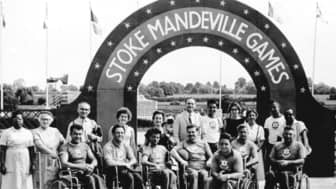 "In 1948, on the same day as the opening ceremonies of the London Summer Olympics, Dr. Guttman organized the ""Stoke Mandeville Games"" for veterans with spinal cord injuries."