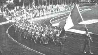 Held in Rome following the Olympics, these events are considered the first Paralympic Games.