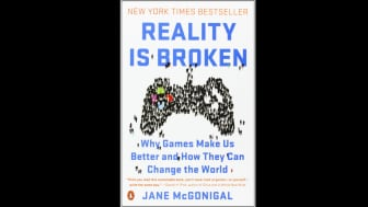 "Following at #3 is ""Reality Is Broken: Why Games Make Us Better and How They Can Change the World."""