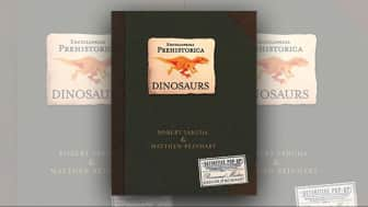 "At #5 is ""Encyclopedia Prehistorica Dinosaurs: The Definitive Pop-Up."""