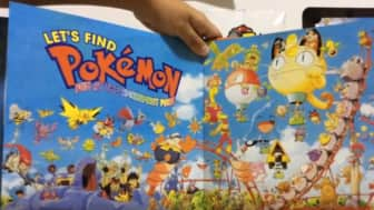 "A combination of the first three volumes of the ""Let's Find Pokemon"" series, Kazunori Aihara offers intricate artwork in the special edition ""Let's Find Pokemon"" for a lengthy and fun seek-and-find experience."