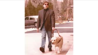 His Labrador retriever, Corky, gave him the awakening he needed to chase his dreams of being a poet and a writer.