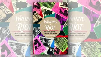 "Last is #8 ""Writing a Riot: Riot Grrrl Zines and Feminist Rhetorics."""