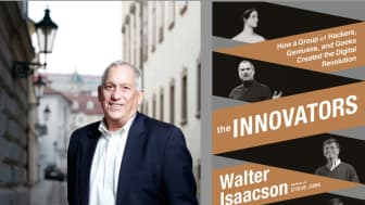 "#4 on our list is ""The Innovators: How a Group of Hackers, Geniuses, and Geeks Created the Digital Revolution."""