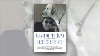 "Coming in at #2 is ""Planet of the Blind: A Memoir."""