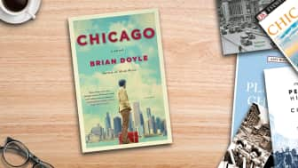 "Coming in at #3 is ""Chicago: A Novel."""
