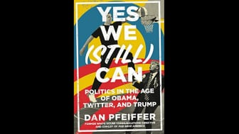 "Taking the #2 spot is ""Yes We (Still) Can: Politics in the Age of Obama, Twitter, and Trump."""