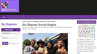 "Two years later, an entrepreneur named Andrew Weinreich founded SixDegrees, one of the first social media websites that allowed its users to customize their profiles and connect with others by adding people to their ""friends"" list."