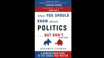 "At #1, ""What You Should Know About Politics... But Don't"" is a guide to contemporary American political principles that is issue-based and nonpartisan."