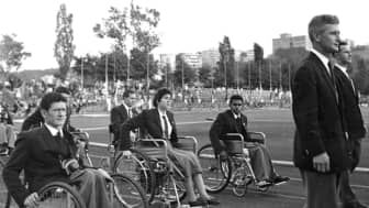 They were also no longer solely for war veterans, although spinal cord injury was the only disability represented.