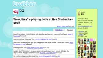 In 2006, a group of programmers and entrepreneurs created Twitter, a microblogging site designed for quick status updates between friends and followers.