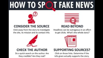 Luckily, there are things you can do to identify fake news.
