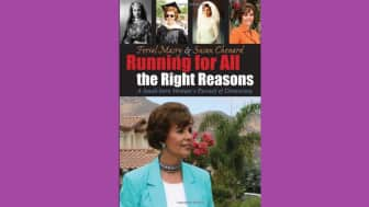 "The seventh is entitled ""Running for all the Right Reasons: A Saudi Born Woman's Pursuit of Democracy."""