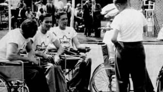"The following year, a Canadian team called the ""Montreal Wheelchair Wonders"" also took part in the sporting event."