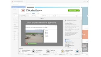Wikimaker Capture is available as a Chrome browser extension or as a free download for Windows and Mac.