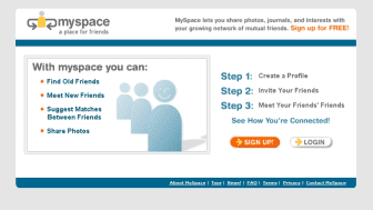 In 2003, employees of eUniverse, an internet marketing company based in America, created MySpace.
