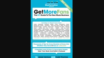 "Kicking off the back half at #6 is ""Get More Fans: The DIY Guide to the New Music Business"" by Jesse Cannon and Todd Thomas."