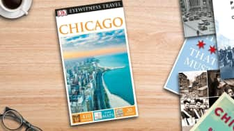 "At #5 is the ""DK Eyewitness Travel Guide: Chicago."""