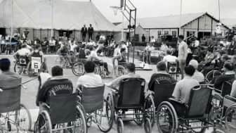 Word about the games quickly circulated throughout England, and in 1952, Dutch veterans competed against the British athletes, making it the first international competition of its kind.