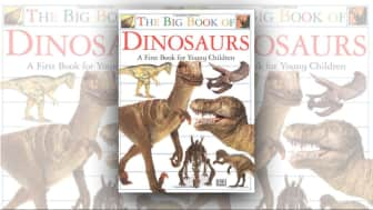 "#7 on the list is ""Big Book of Dinosaurs."""