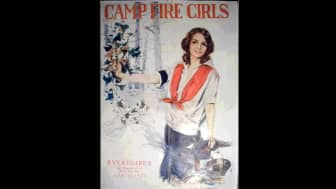 The biggest competition was Camp Fire Girls, which was co-founded by James E. West, the Chief executive of the Boy Scouts of America.