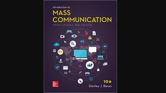 #3: Introduction to Mass Communication, by Stanley J. Baran.