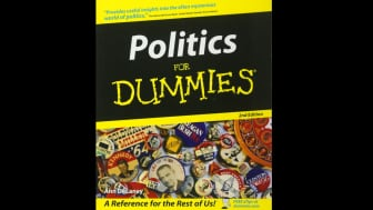 "At #8, ""Politics For Dummies"" is a book about American politics, explained in a clear and concise manner that anyone can understand."