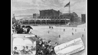In 1871, the Chicago White Stockings, a major league baseball team, played games at the site that became Millennium Park.