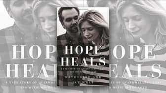"Last, at #10, we have ""Hope Heals: A True Story of Overwhelming Loss and an Overcoming Love."""
