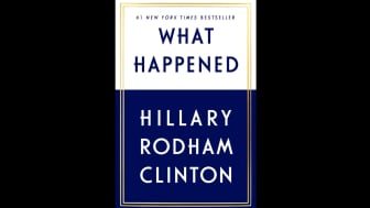 "#7 is Hillary Rodham Clinton's ""What Happened."""
