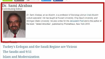 This was written by former Muslim believer Dr. Sami Alrabaa, an Islam-Arab culture expert and sociology professor.