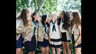 The Girl Scouts of the United States of America or G.S.U.S.A. is a youth organization for American girls.