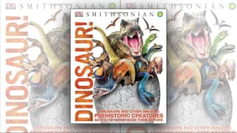 "At #4 is ""Dinosaur!"" by DK Publishing in collaboration with the Smithsonian."