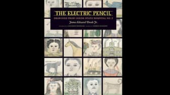 "At #9 is ""The Electric Pencil: Drawings from Inside State Hospital No. 3."""